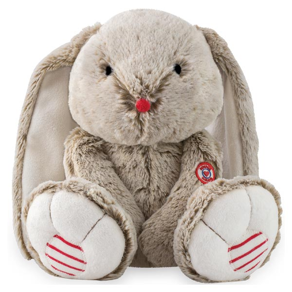 Lapin medium sable Rouge Kaloo 30 cm