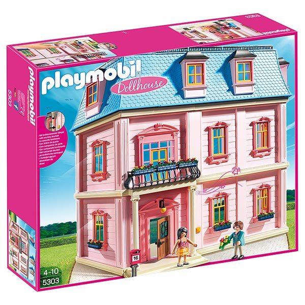 5303 maison traditionnelle playmobil dollhouse playmobil for Maison moderne playmobil 2018