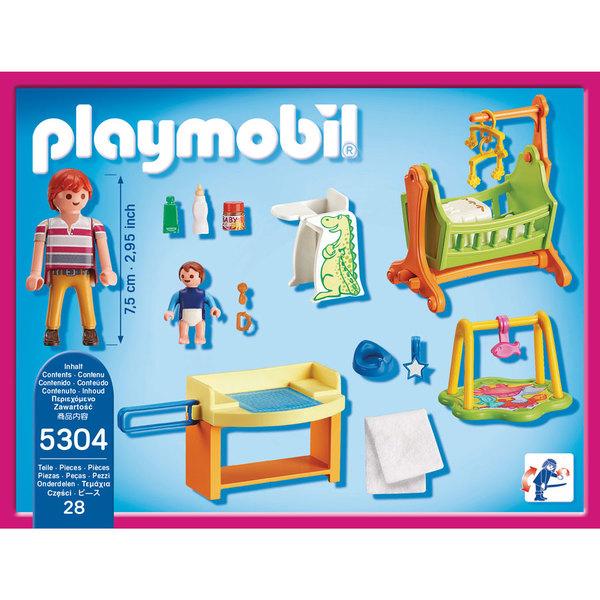 5304 chambre de b b playmobil dollhouse playmobil king jouet playmobil playmobil jeux d - Toute les maison playmobil ...