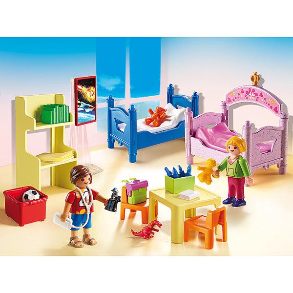 Chambre Moderne Playmobil : Chambre d enfants avec lits superposés playmobil