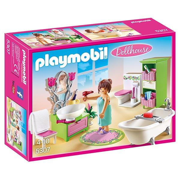 Playmobil la maison de ville chambre de b b cuisine for Salle a manger playmobil city life