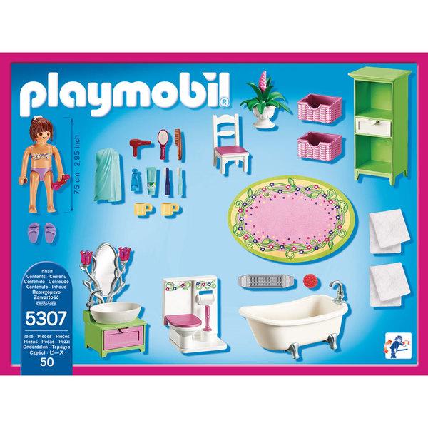 5307 salle de bains et baignoire playmobil dollhouse for Salle bain playmobil