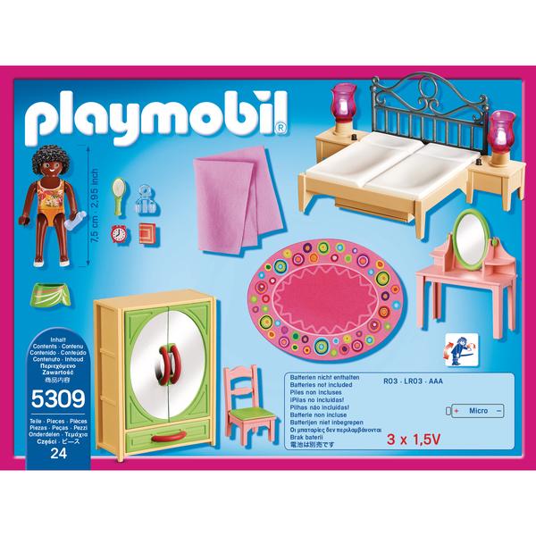 5309 Chambre D 39 Adulte Avec Coiffeuse Playmobil Dollhouse