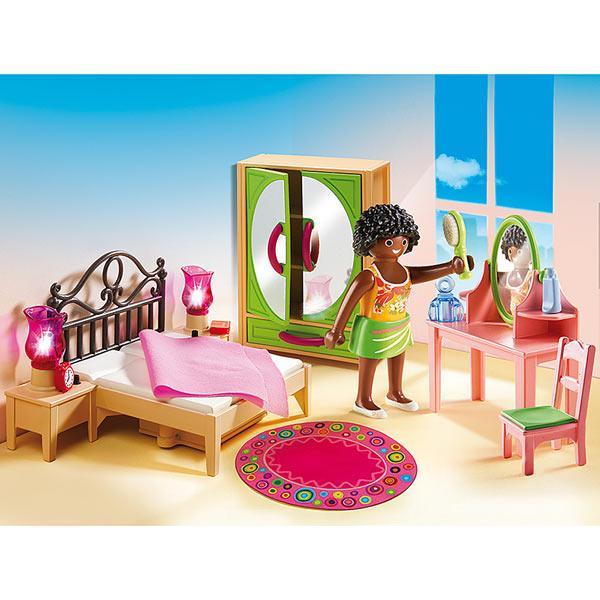 5309 chambre d 39 adulte avec coiffeuse playmobil king jouet playmobil playmobil jeux d. Black Bedroom Furniture Sets. Home Design Ideas