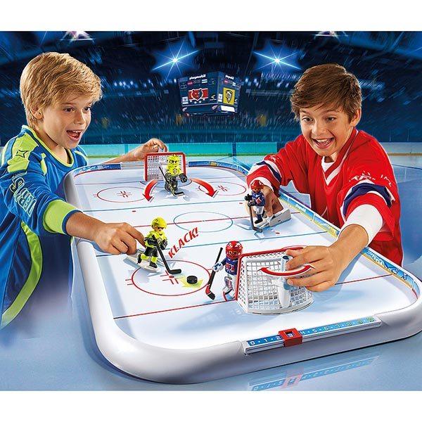 5594-Stade de hockey sur glace - Playmobil Sport et action