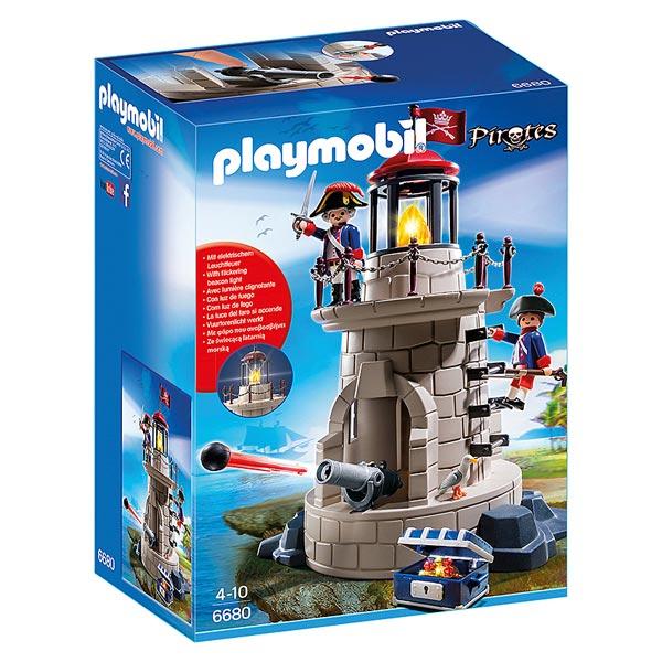 Playmobil les pirates fant mes barque canon ile d serte et naufrag jouets playmobil - Playmobil bateau corsaire ...