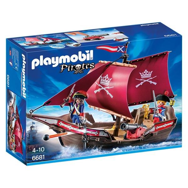 6681-Chaloupe des soldats - Playmobil Les pirates