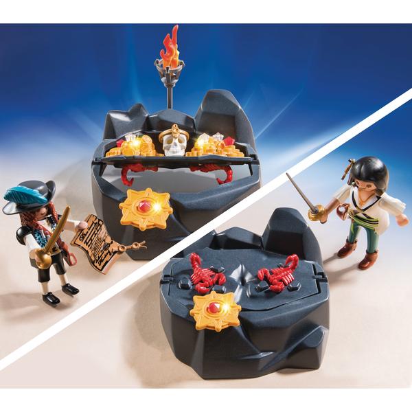 6683-Pirates et trésor royal - Playmobil Les Pirates