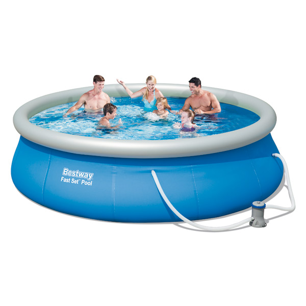 Piscine autoportante bestway king jouet piscines for Piscine autoportante