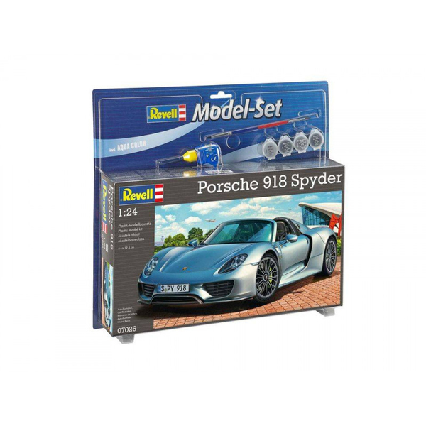 maquette porsche 918 spyder revell king jouet maquettes modelisme re. Black Bedroom Furniture Sets. Home Design Ideas