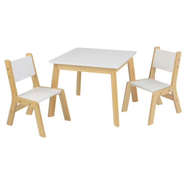 Ensemble table moderne avec 2 chaises kidkraft king for Table avec 2 chaises