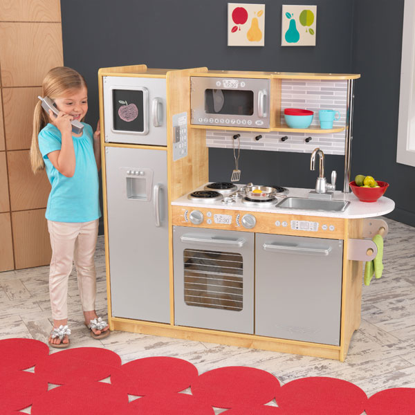 Cuisine uptown naturelle kidkraft king jouet cuisine et dinette kidkraft - Cuisine kidkraft avis ...