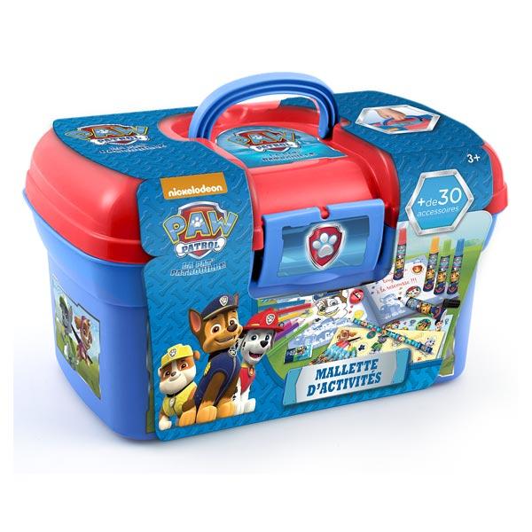 Mallette d 39 activit s pat 39 patrouille canal toys king jouet dessin et peinture canal toys - Coffre de rangement pat patrouille ...