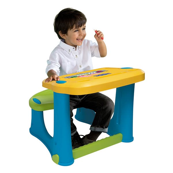 bureau peppa pig smoby king jouet autres smoby f tes d co mode enfants. Black Bedroom Furniture Sets. Home Design Ideas