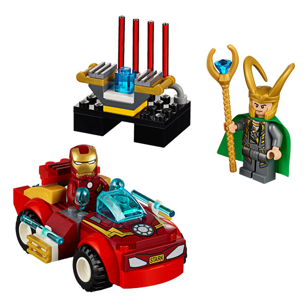 10721 iron man contre loki de lego. Black Bedroom Furniture Sets. Home Design Ideas