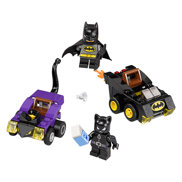 76061 mighty micros batman contre catwoman lego king jouet lego planchettes autres lego. Black Bedroom Furniture Sets. Home Design Ideas