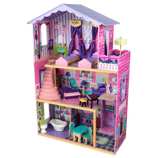 maison de poup e ma maison de r ve kidkraft king jouet accessoires de poup es kidkraft. Black Bedroom Furniture Sets. Home Design Ideas