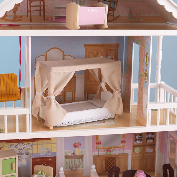 Maison de poup e savannah dollhouse kidkraft king jouet - Maison poupee kidkraft ...