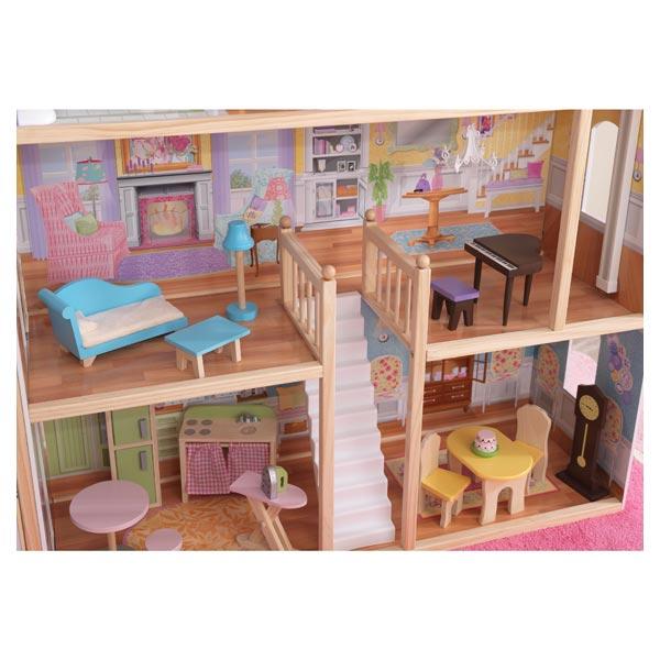 Maison de poupées château majestueux
