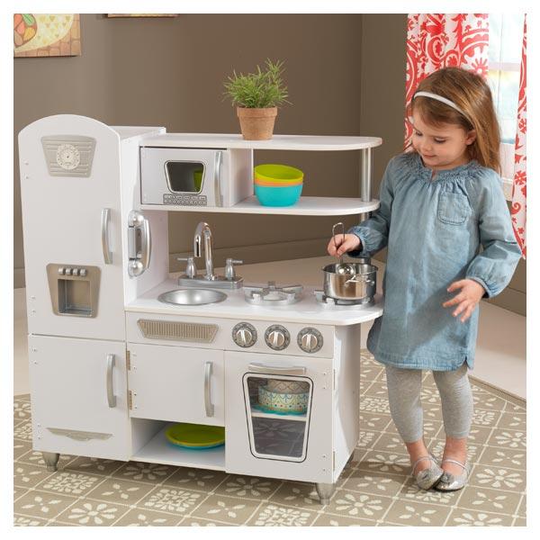 Cuisine vintage blanche kidkraft king jouet cuisine et dinette kidkraft jeux d 39 imitation - Cuisine kidkraft blanche ...