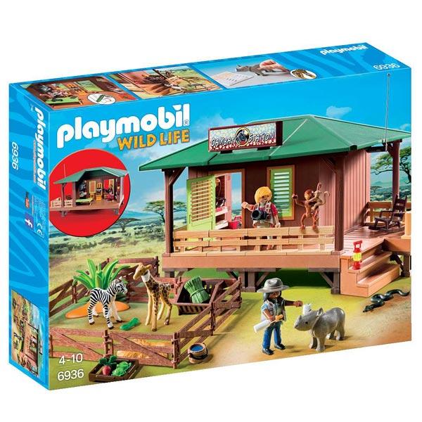 6936 centre de soins pour animaux de la savane playmobil wild life playmobil king jouet - Playmobile savane ...