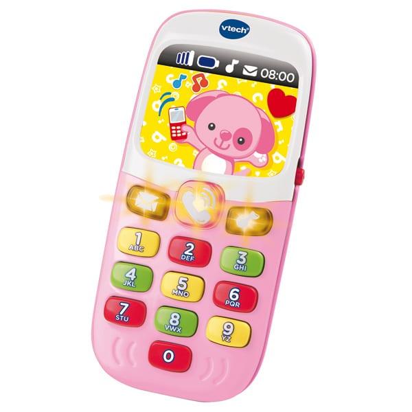 Téléphone - Baby smartphone bilingue rose