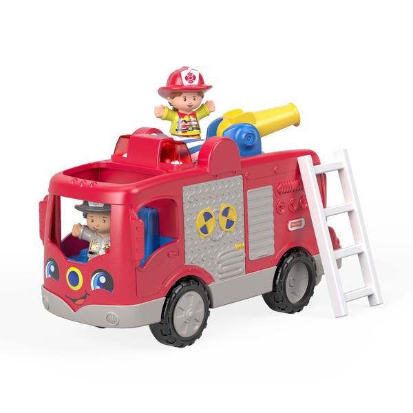 le camion de pompiers little people fisher price king jouet jeux d 39 veil fisher price. Black Bedroom Furniture Sets. Home Design Ideas