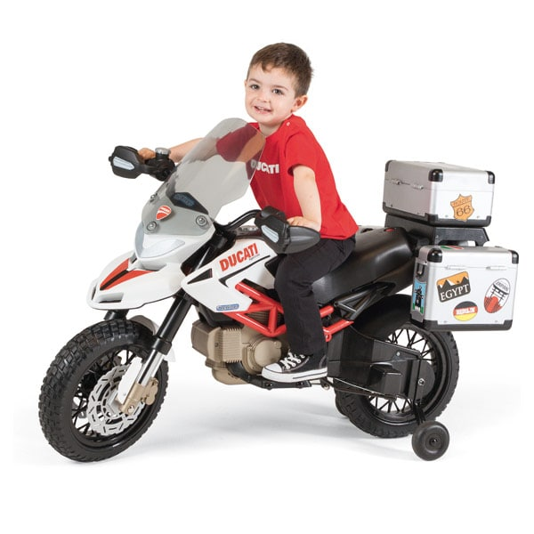 moto ducati hypermotard cross 12 volts peg perego king jouet v hicules lectriques peg perego. Black Bedroom Furniture Sets. Home Design Ideas