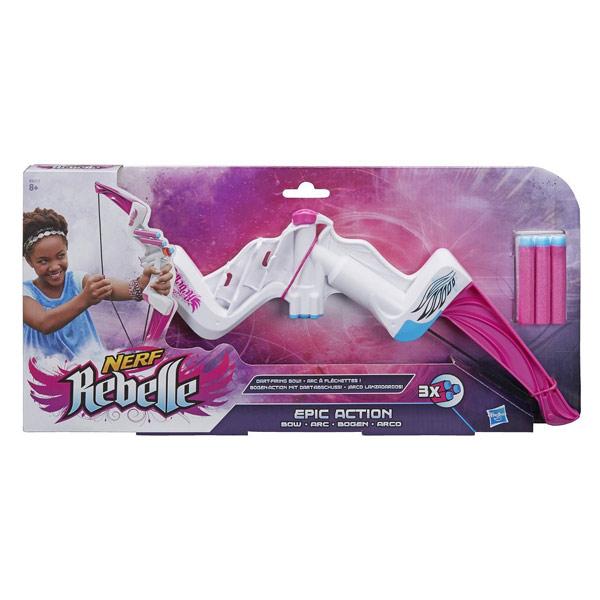nerf rebelle arc epic action bow nerf king jouet jeux d 39 adresse et sportifs nerf sport et. Black Bedroom Furniture Sets. Home Design Ideas