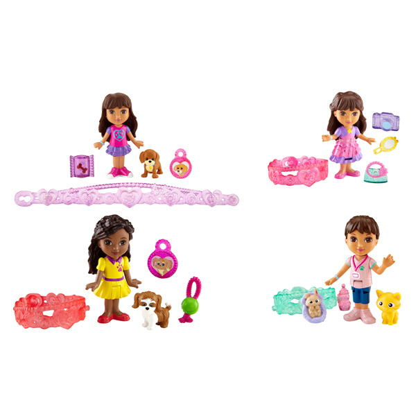 Dora Figurine et Charms