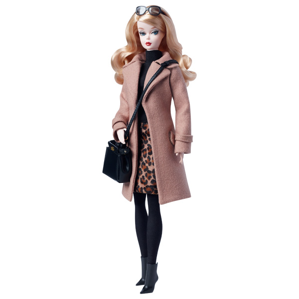 Barbie Fashion Model Trench Chocolat de Mattel