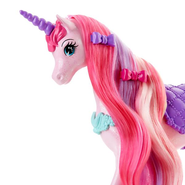 Licorne chevelure magique pour barbie de mattel - Barbie licorne ...