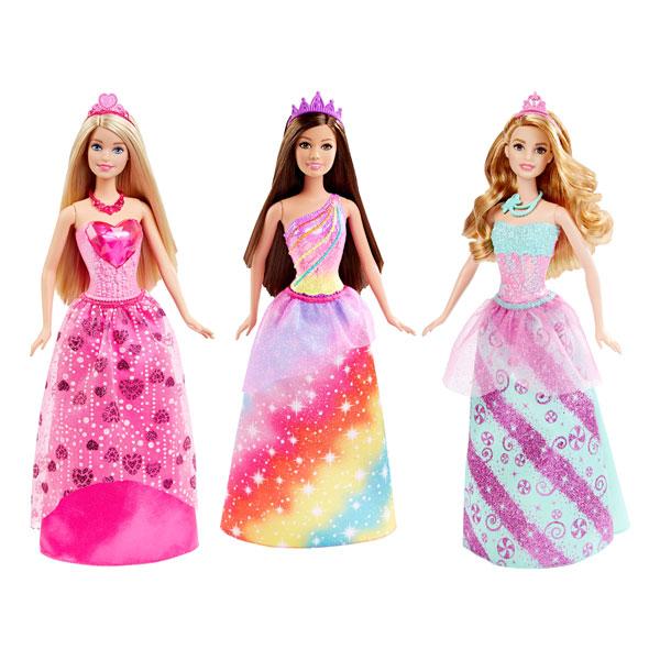 Barbie princesse multicolore mattel king jouet poup es - Desanime de barbie princesse ...