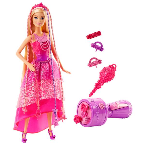 Barbie princesse chevelure magique rose de mattel - Barbie danseuse magique ...