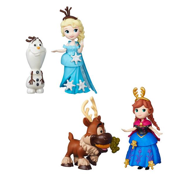 Mini Poupées et leurs Amis Reine des Neiges