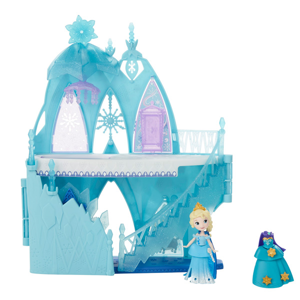 Ch teau mini poup e d 39 elsa la reine des neiges hasbro for Le chateau de la reine des neiges
