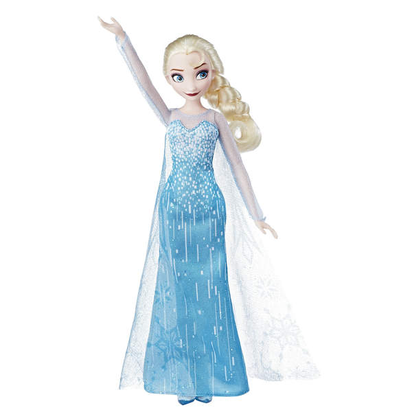 Poupée Reine des Neiges Elsa Poussière D