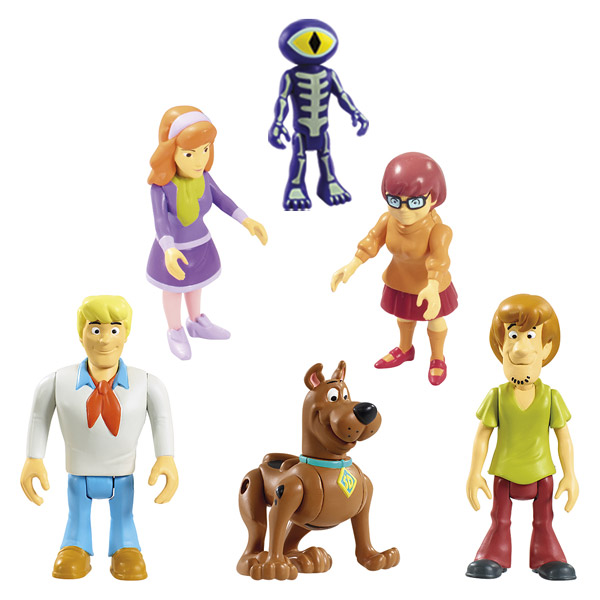 Coffret 2 minis figurines scooby doo lansay king jouet - Personnage scooby doo ...