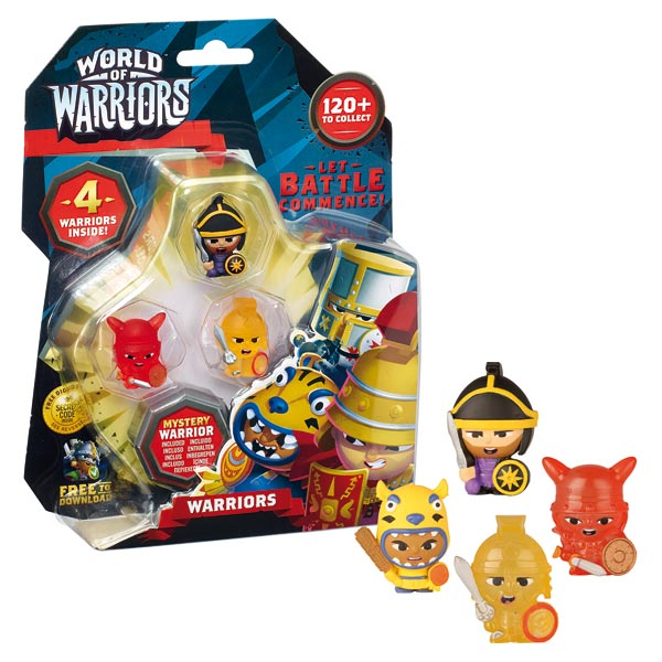 World of Warriors Coffret 2 Guerriers avec Temple de Giochi de48cf26366