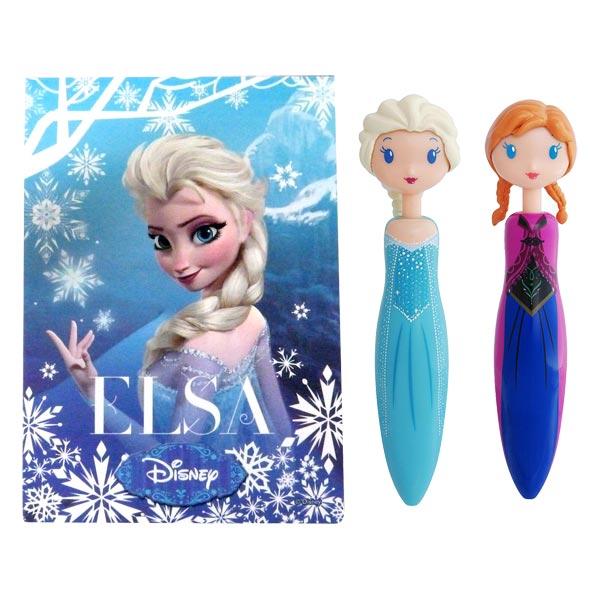 coffret 2 stylos et un carnet la reine des neiges - Reine Neiges