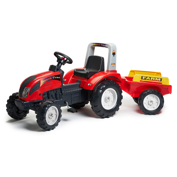 tracteur ranch avec remorque falk king jouet voitures p dales falk sport et jeux de plein air. Black Bedroom Furniture Sets. Home Design Ideas