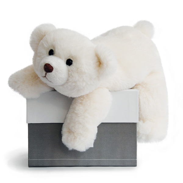 Peluche Ours polaire 30 cm