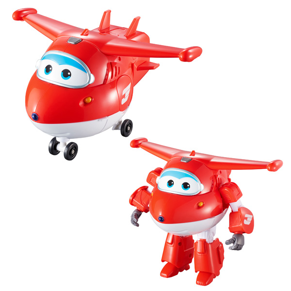 Avion transformable Super Wings de Auldey
