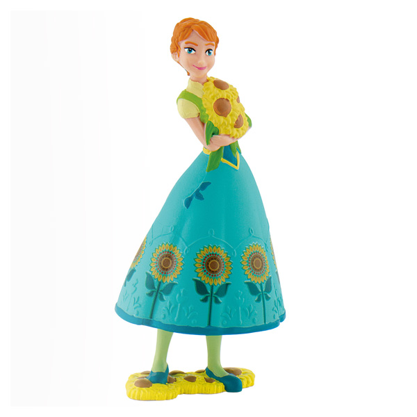 Figurine Reine des Neiges Anna fête givrée