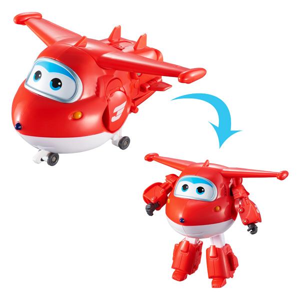 Véhicule transformable Super Wings : Transform'n talk Jett  Jeux et jouets