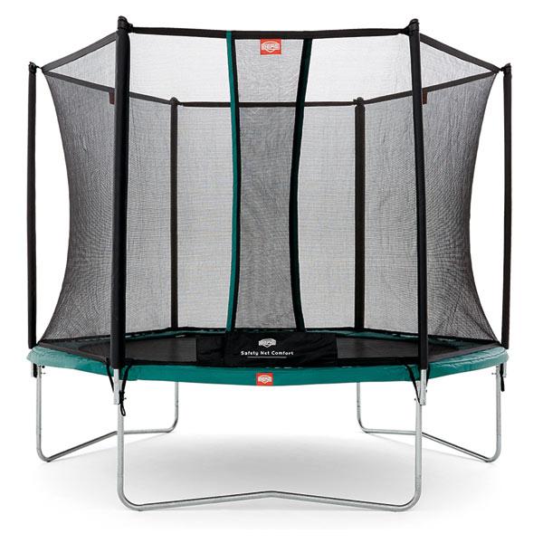 trampoline berg talent 300 avec filet berg king jouet trampolines berg sport et jeux de. Black Bedroom Furniture Sets. Home Design Ideas