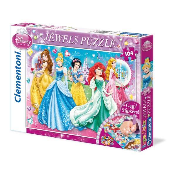 Puzzle 104 pièces brillant jewels ou glitter