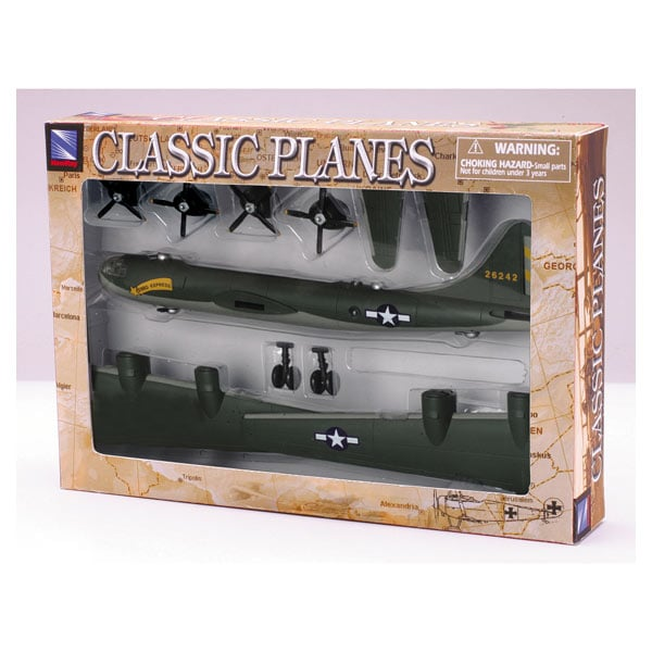 Avions bombardier 4 mod. kit assortis