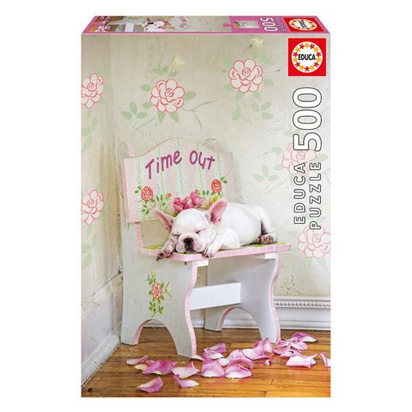Puzzle 500 pièces La sieste Lisa Jane