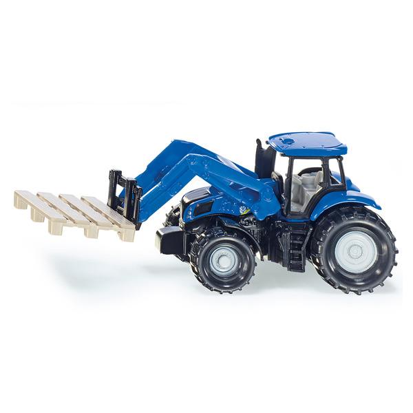 Tracteur avec fourche et palette siku king jouet v hicules de chantier et tracteurs siku - Tracteur avec fourche ...